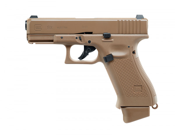 Glock19 X CO2, Tan