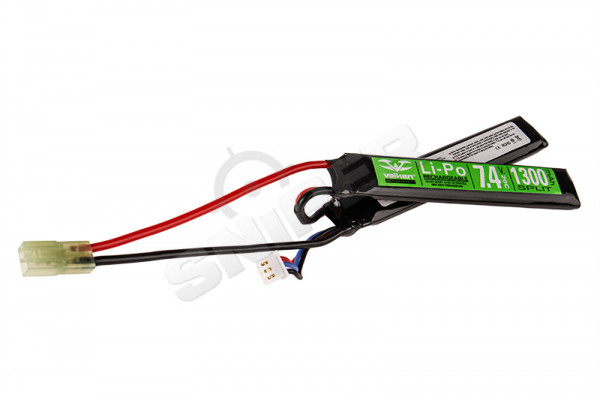 V Energy LiPo 7.4V 1300mAh 20C Twin Type