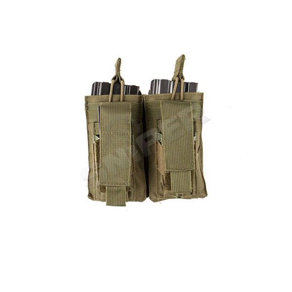 Double AR Mag Pouch OD Green