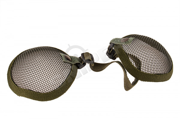 V Tactical Ear Protector 3G Wire Mesh, Green