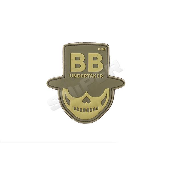 BB Undertaker PVC Patch, tan (B37)