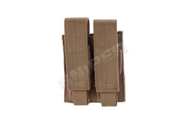 Double Pistol Mag Pouch, Coyote Brown