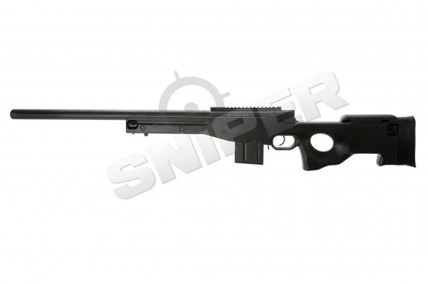 L96 AWP Sniper Rifle Set Upgraded, black