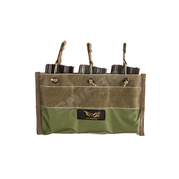 Built-In triple 5.56 Mag Pouch, Ranger Green