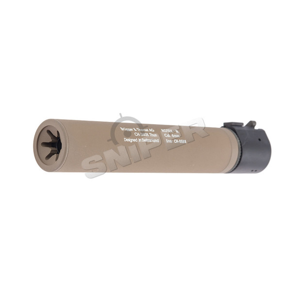 B&T Rotex III Silencer, Tan