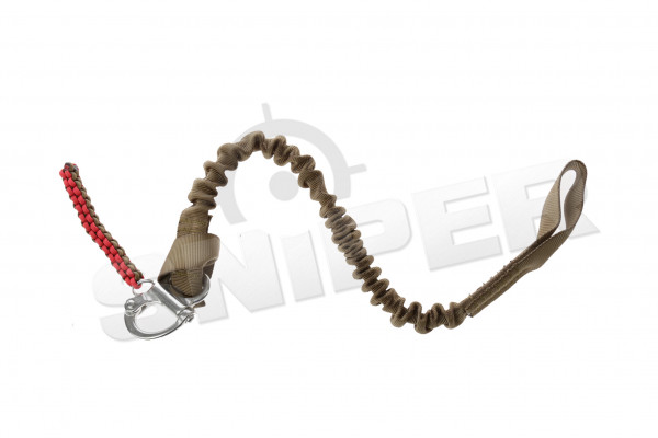 Sling rope with 1-D buckle, sand