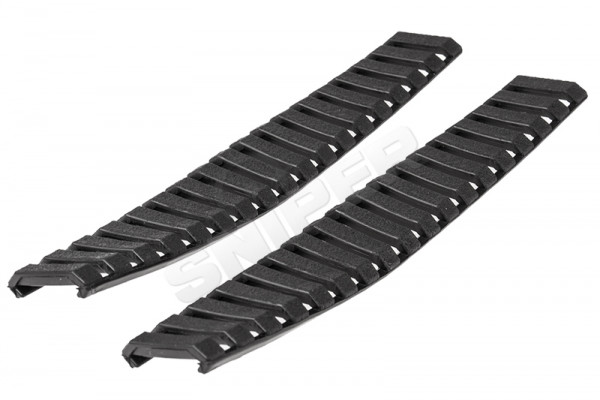 Ladder Rail Panel Set, Black