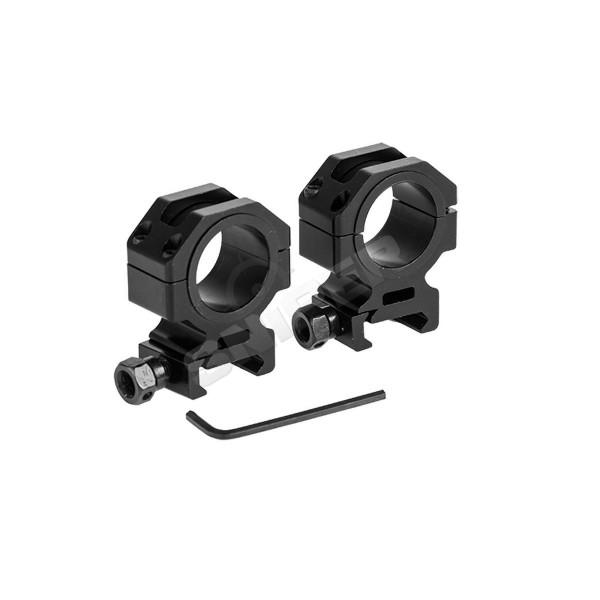 30mm Tactical Series Mount Ring 2-er Set, 28mm