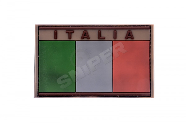 Italia 3D PVC Patch tan