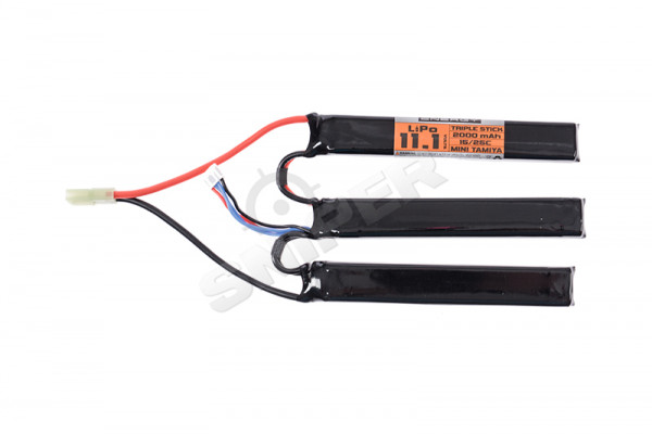 V Energy 11,1V 2.000mAh 25C Triple Stick LiPo Akku