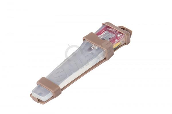 Velcro Safty Lite, Tan, White Light