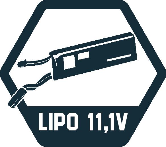 11,1V