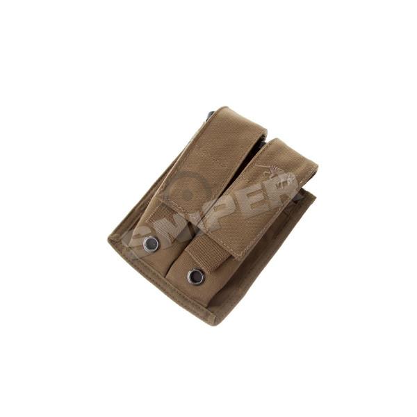 TT DBL Pistol Mag Pouch, Khaki/Tan