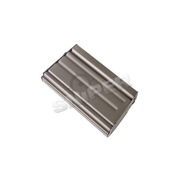 Ersatzmagazin Mid Cap, Farbe Grau. Für SR25/M110 (