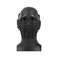 V Tactical 3G Mask Wire Mesh, Black