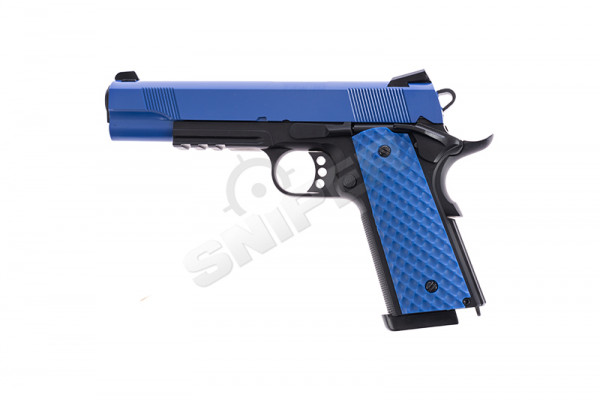 Raven 1911 MEU Railed GBB, Blue