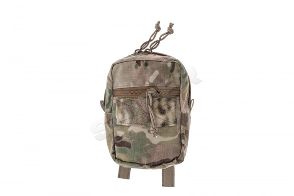 Vertical Double Zip Utility Pouch, Multicam
