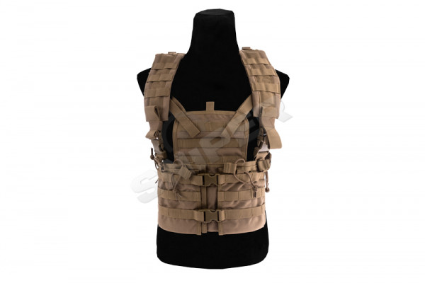 Modular Chest Rig, Coyote Brown