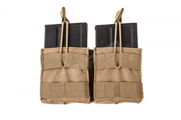 Double 7,62 Mag Pouch, Tan