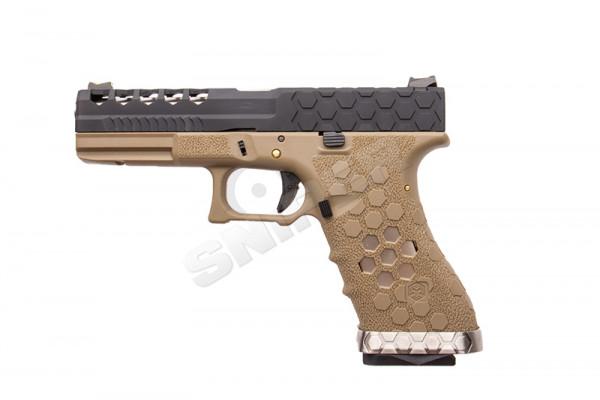 VX0111 Hex Cut Pistol, GBB