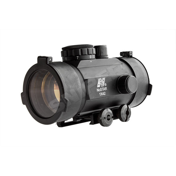 42mm Low Profile Red Dot Sight, Black
