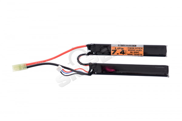 V Energy 7,4V 2.000mAh 15/25C Double Stick LiPo