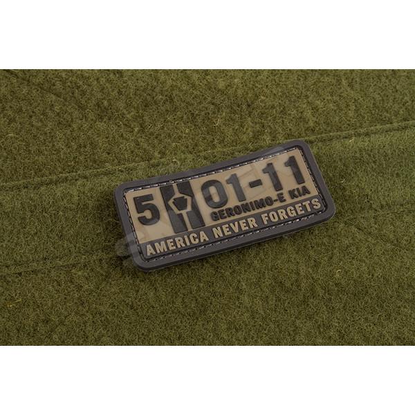 5-01-11 PVC Patch, grey (A92)
