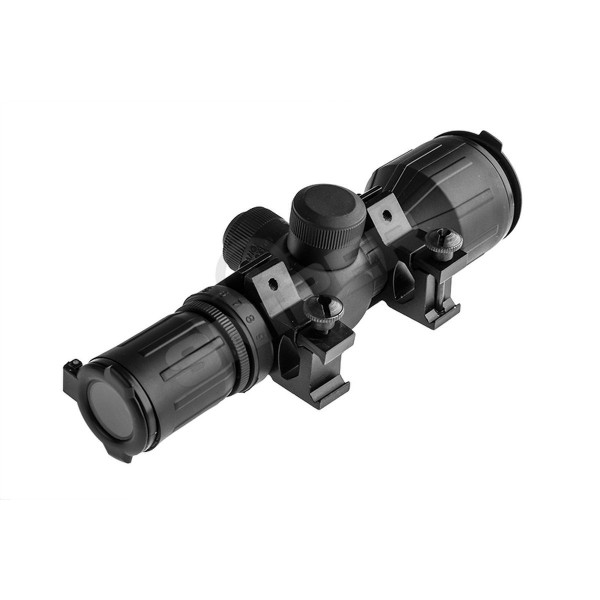 Compact Rubber Tactical 3-9x42 Scope, Short