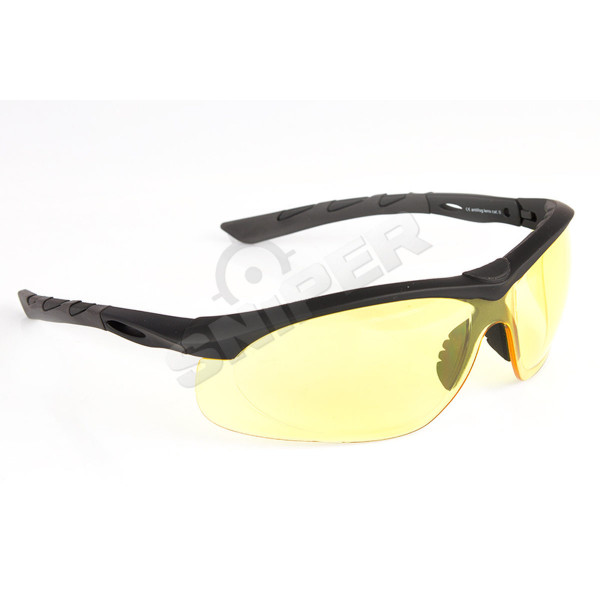 Lancer, Yellow, Frame Rubber Black