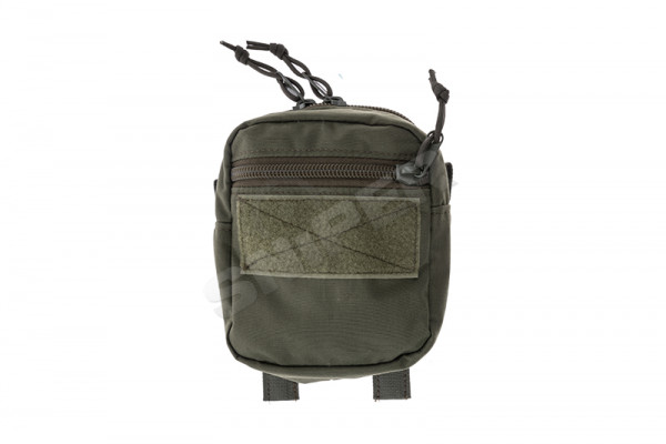 Medium Double Zip Utility Pouch, OD Green