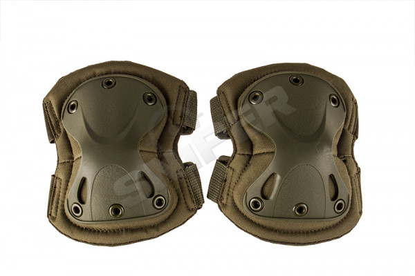 V Tactical Elbow Pads, Olive Drab