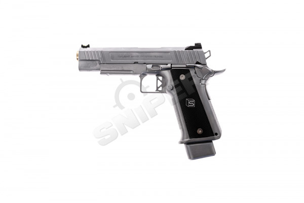 Salient Arms Int. DS 2011 5.1 Hi-Capa Silver, GBB