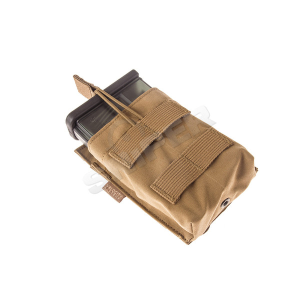 HK 417/G28 Single Mag Pouch, Coyote Brown
