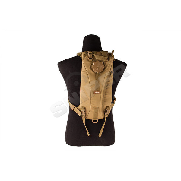 Tactical 3L Hydration Bag, Coyote