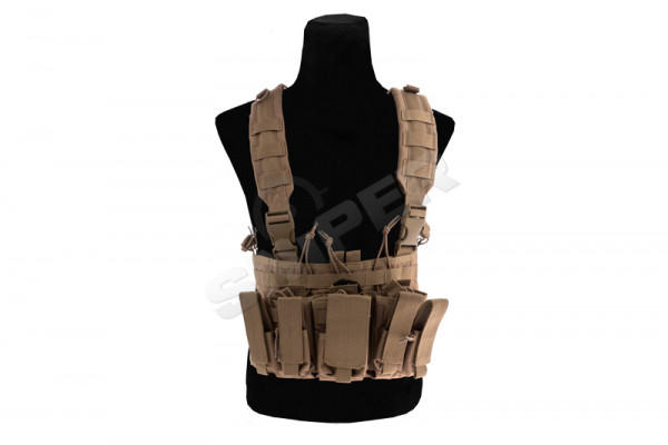 Recon Chest Rig, Coyote Brown