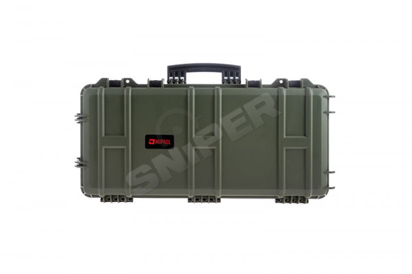 Medium Trolley Hard Case Pick and Plug, OD Green