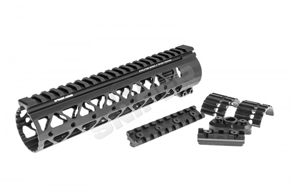 "Samson Rainier Arms Rail 9"", Black"