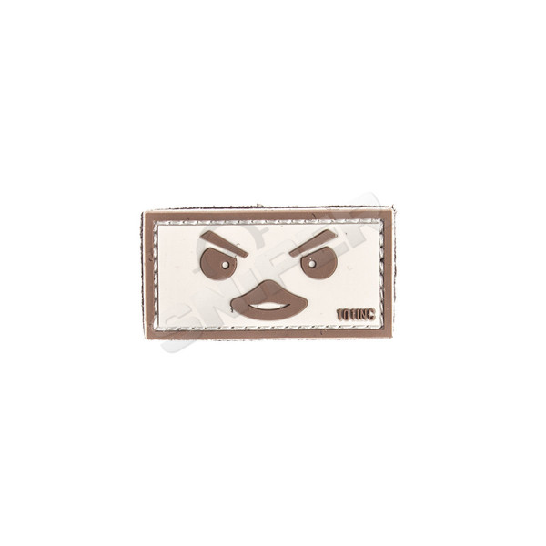 Duckface PVC Patch, sand (B117)