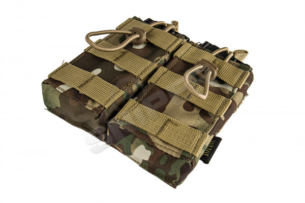 Double Open Top M4 Magazin Pouch, Camo