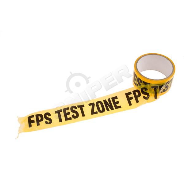 Markierungsband FPS Test Zone