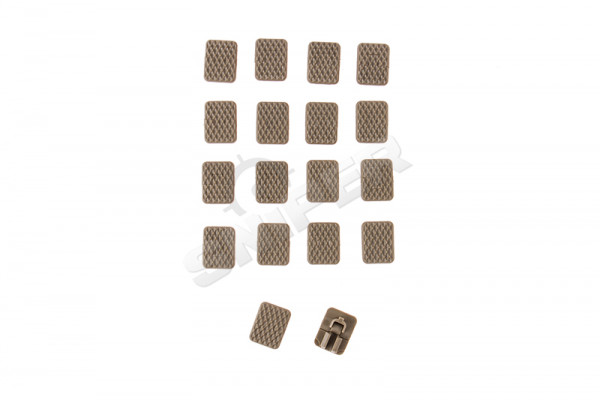 M-Lok 1 Slot Covers - Tan