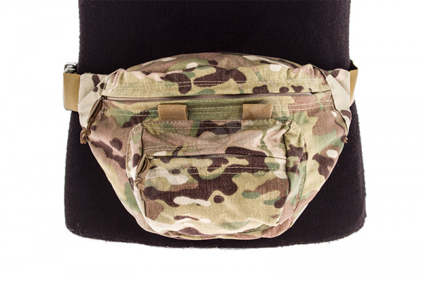 Low-Pitched Waist Pack, Multicam