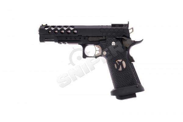 HX2502 Hex Cut Pistol, GBB