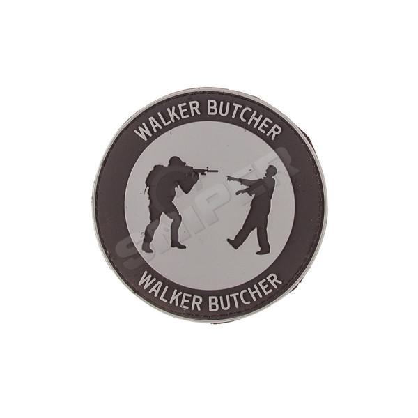 Walker Butcher PVC Patch, grey (B57)