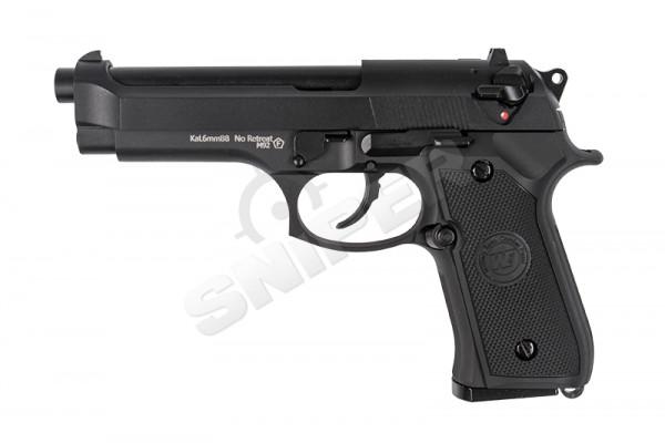 M92FS Black, GBB