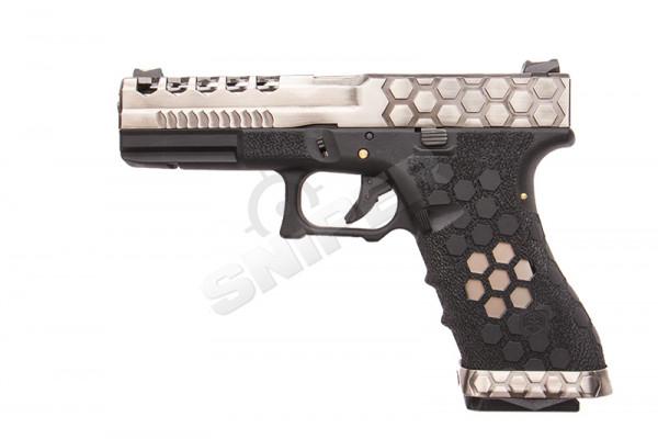 VX0100 Hex Cut Pistol, GBB