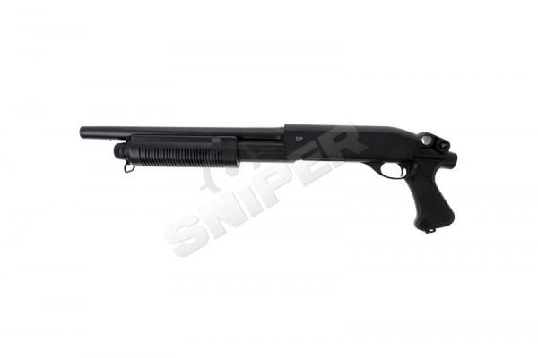 M870 Breacher Tri-Shot Spring Shotgun, Black