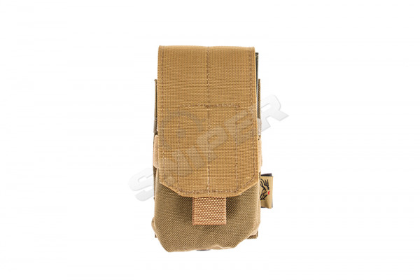 Single M14 / AR10 Mag Pouch, Coyote Brown