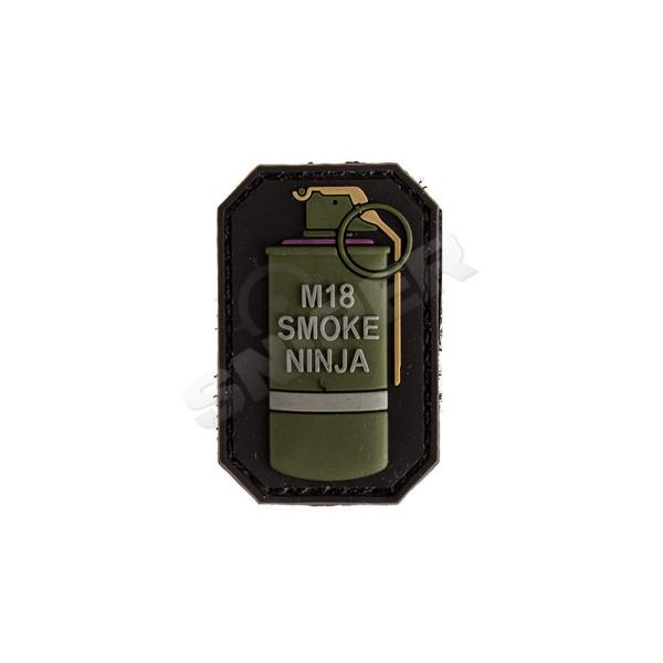 3D PVC Patch M-18 Smoke Ninja, violet (B166)