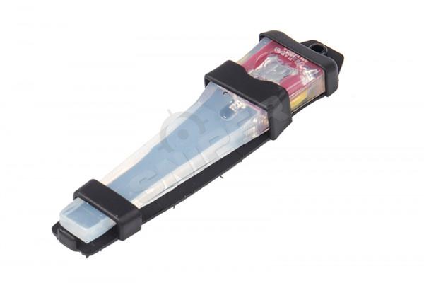Velcro Safty Lite, Black, Pink Light